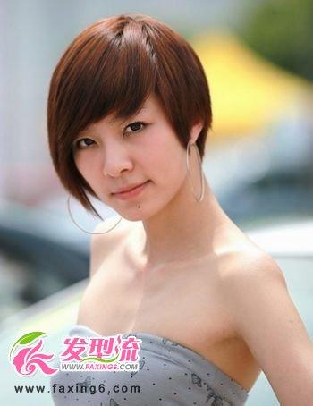微烫洋气发型女超短发图片图片