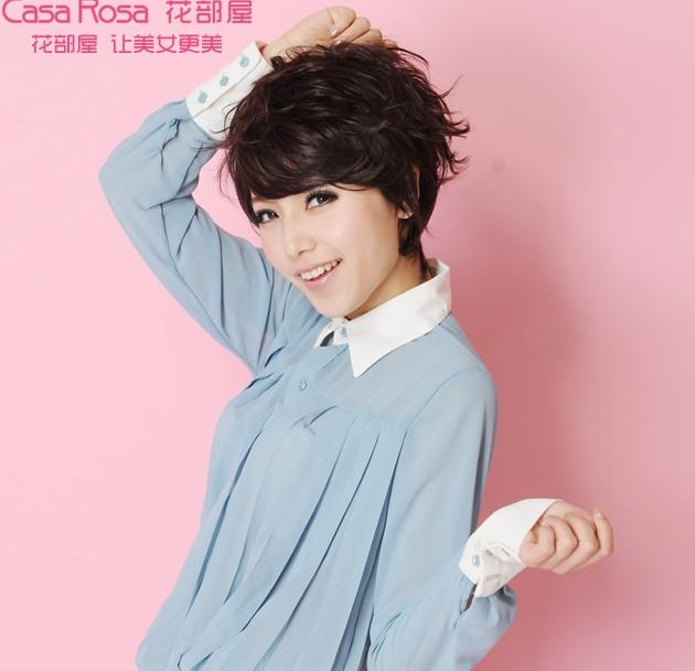 的.   次   2013年最流行的烫发发型 帅气女生最爱(2)   女高清图片