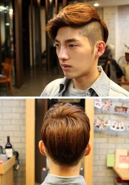 男发型 后脑分享展示图片