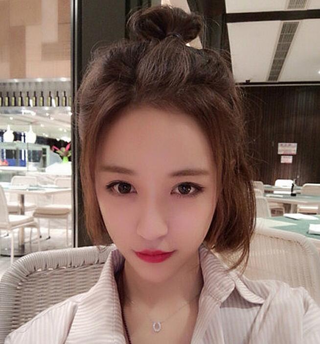 韩国女生最流行的短发发型图片(2)
