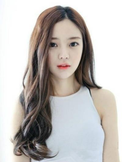五款韩式甜美长发蛋卷头发型萌妹子大爱图片