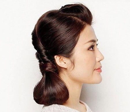 长发盘起来的发型 夏季盘发发型教程