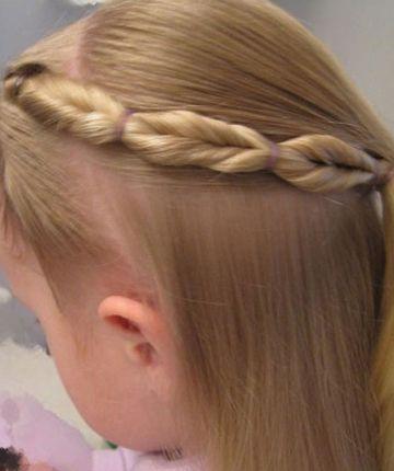 小女孩长头发扎什么发型好看 小女孩发型12岁扎法图解