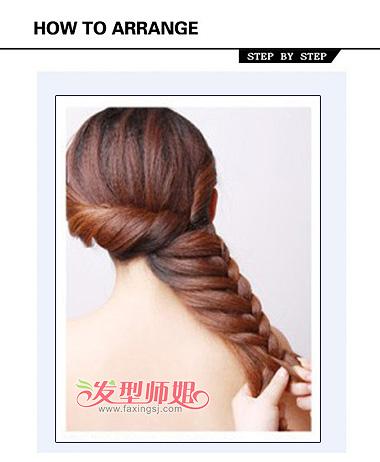 韩式新娘发型 长发盘发新娘发型(3)