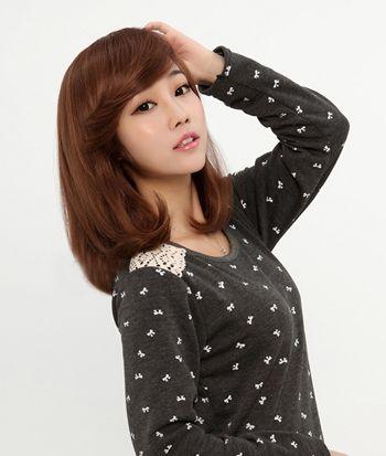 齐肩短发可以烫梨花头吗 梨花头假发发型(4)图片