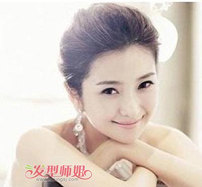 新娘韩式发型2015新款 影楼韩式发型图
