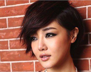 女中老年人短头发少烫什么发型好 中年头发少烫发发型