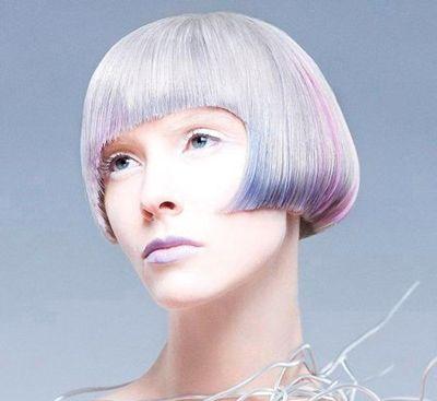 沙宣中短发渐变色发型图片 沙宣发型与颜色的搭配