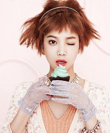 女人烫头发玉米须步骤 短发的玉米烫发图片图片
