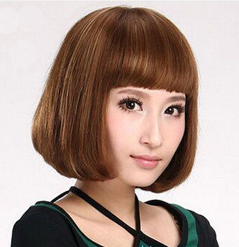 内扣式沙宣短发发型图片