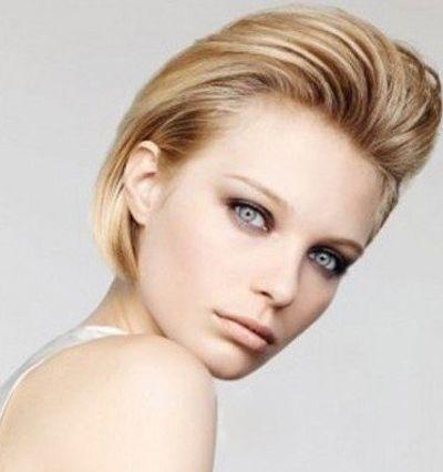 2015年最新的沙宣短发圆脸 沙宣圆脸短发大全_发型图片