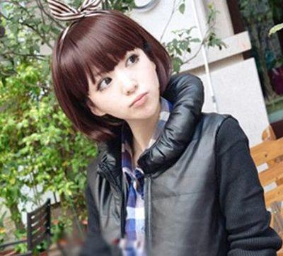 脸大应该沙宣吗 脸大的女人沙宣头图片(4)_发型图片
