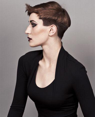 沙宣短发发型图片 女士短沙宣发型(2)图片