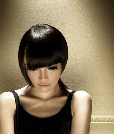 沙宣短发发型图片 女士短沙宣发型图片