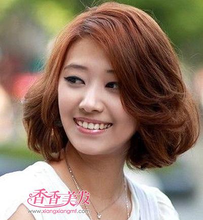 哪种沙宣短发应该圆脸 女短发沙宣圆脸(4)
