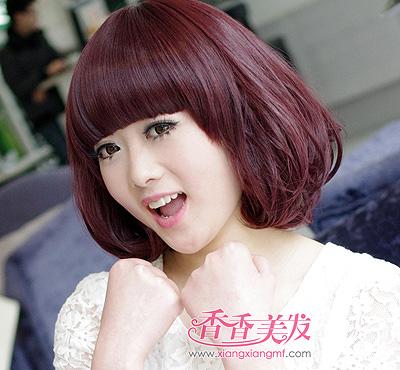 沙宣卷短发发型图片 沙宣短发发型图片学生(2)