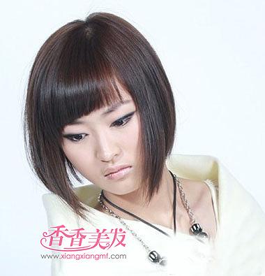 女士脸长适合剪沙宣发型吗 长脸沙宣短发发型图片图片