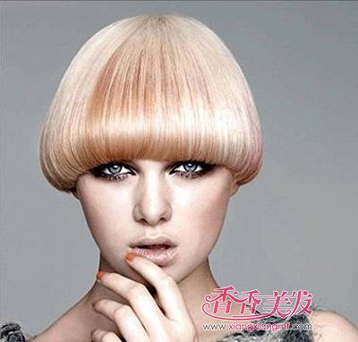 沙宣短发发型适合什么脸型 沙宣菱形脸发型图片中短发图片