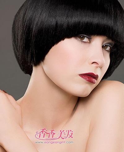 女人国字脸发型 应该国字脸女人的沙宣发型(2)