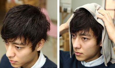 男碎发发型怎样打理好看 男人日常发型打理图片