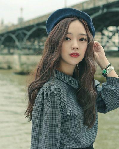 2015日韩长发烫发型 韩式女人长发烫发