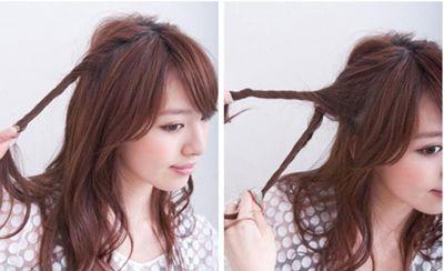 韩国淑女头 韩国淑女梳头方法图解