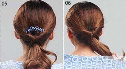 中年妈妈发型如何盘好看 中年女士盘发发型图片大全(3
