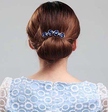 中年妈妈发型如何盘好看 中年女士盘发发型图片大全