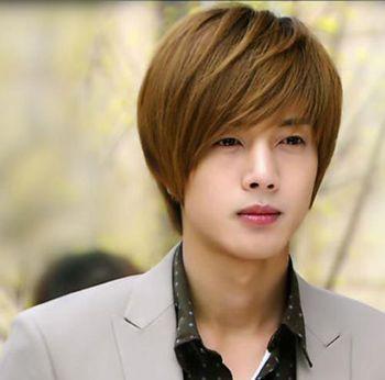 男人长刘海发型图片 男青年的长发发型图片(3)图片