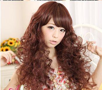 超小卷长发烫发发型 全头小卷烫发发型(4)图片