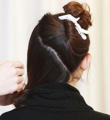 中年女性更等待知性肃静严厉的低盘发造型,一款中年女性合适的盘发图片