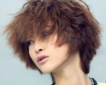 短发锡纸烫效果图 锡纸烫发中短发型图片(2)图片