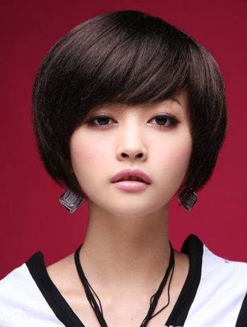 看脸型烫头发 由字脸符合那种烫发(2)_发型图片图片