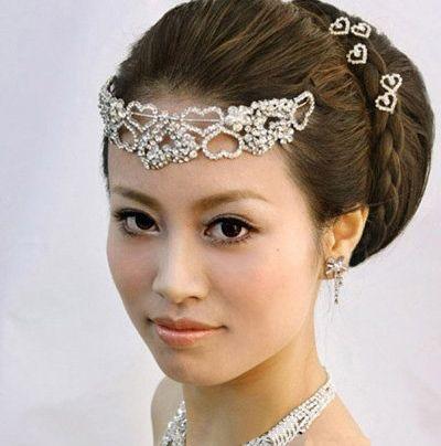 韩版女人盘头图片 简单盘发发型设计(2)