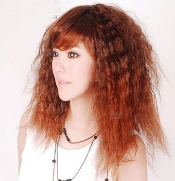 女士发型玉米须烫发型特点 短发玉米烫发发型图片图片