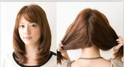 国字脸形怎样盘头发简单好看的步骤 国字型脸的盘头法