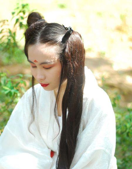 古代少女头发如何盘 漂亮少女的盘发(2)_发型图片