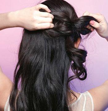 无刘海发型怎样扎不土 无刘海新娘发型扎法步骤