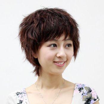 女人短发玉米烫发的种类 女人超短发玉米烫_发型图片图片