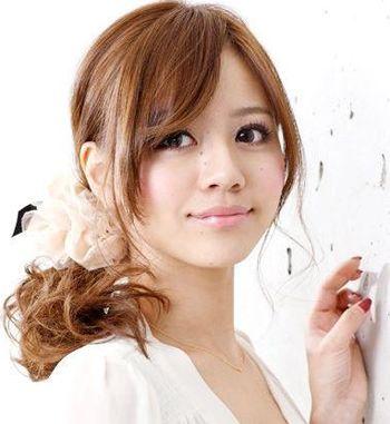 国字型脸符合梨花烫或内扣发型吗 中长梨花渐变色(2)图片