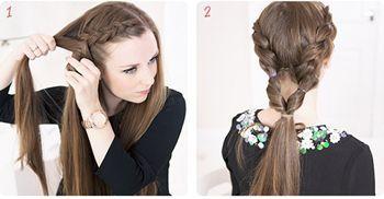 头发很少盘怎样的发型图片 符合头发少的盘头发型图片