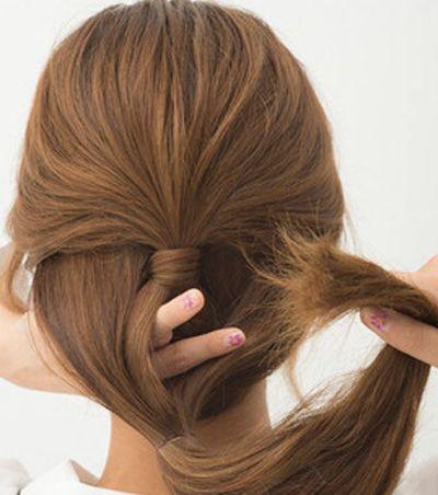 女生又长又直的头发适合扎什么样子的发型 直长发发型扎法图解