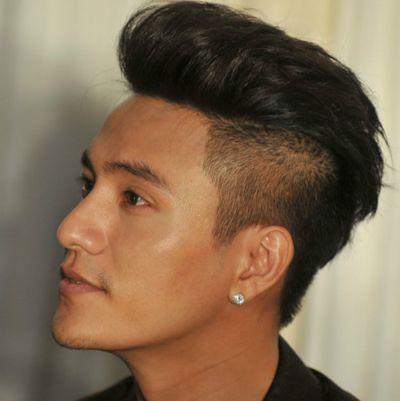 男人直男人梳头顶图片直发拉起来(4中分短发姚笛发型图片