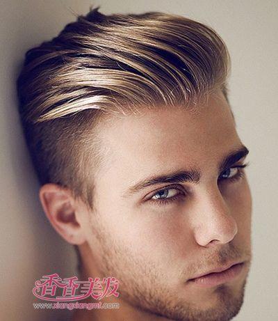 颜色男人染发网显发型男魅力短发短发_颜色红头发颜色图片