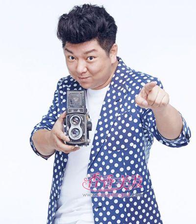 男图片流行的图片胖女生男人发型及发型(4)_发有斜刘海短直发名称发型胖子图片