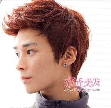 男人深棕色短发发型 2016年男士流行发型颜色