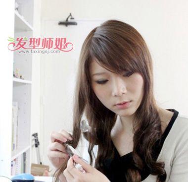 怎样的发型使直发变卷发 日系直发如何做微卷发型(8)图片