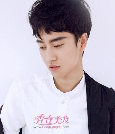 韩版男士短发发型大全 2016年最新男生短发发型图片