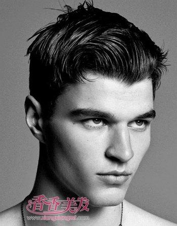 胖男士超短发发型大全 胖男人符合的发型图片(2)图片
