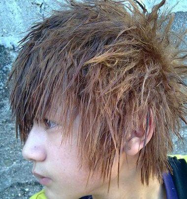 像玉米须式的烫发是什么烫 男生玉米须烫发